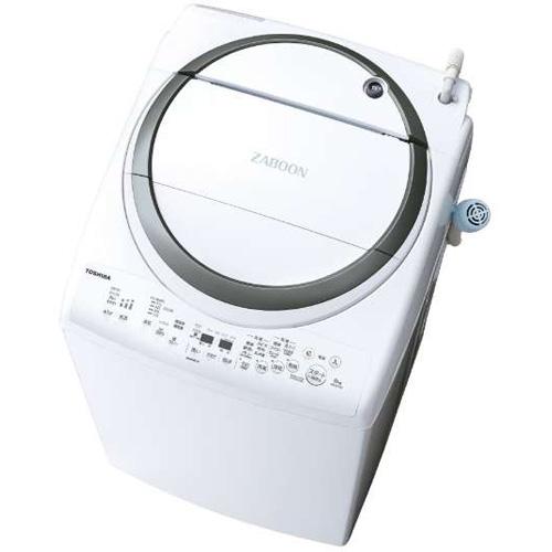 【設置+リサイクル】東芝 AW-8V7-S(シルバー) タテ型洗濯乾燥機 上開き 洗濯8kg/乾燥4.5kg