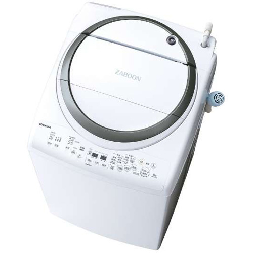 【設置+長期保証】東芝 AW-8V7-S(シルバー) タテ型洗濯乾燥機 上開き 洗濯8kg/乾燥4.5kg
