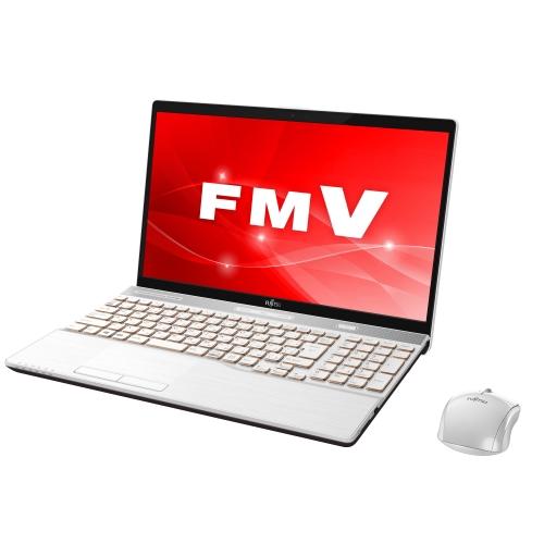 【長期保証付】富士通 FMVA77C2W(プレミアムホワイト) LIFEBOOK AHシリーズ 15.6型液晶