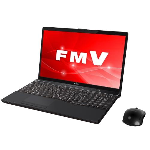 富士通 FMVA53C2B(ブライトブラック) LIFEBOOK AHシリーズ 15.6型液晶