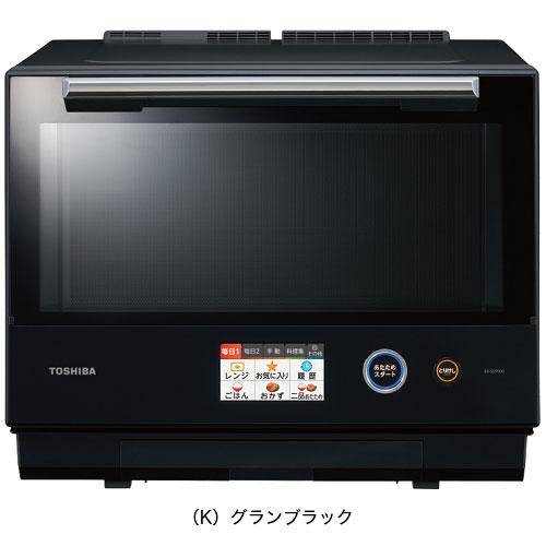 【長期保証付】東芝 ER-SD7000-K(グランブラック) 石窯ドーム 過熱水蒸気オーブンレンジ 30L