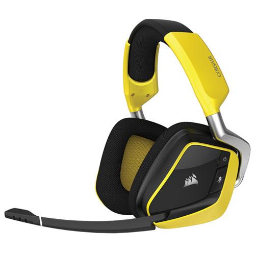 コルセア CA-9011150-AP(イエロー) VOID PRO RGB Wireless ヘッドセット