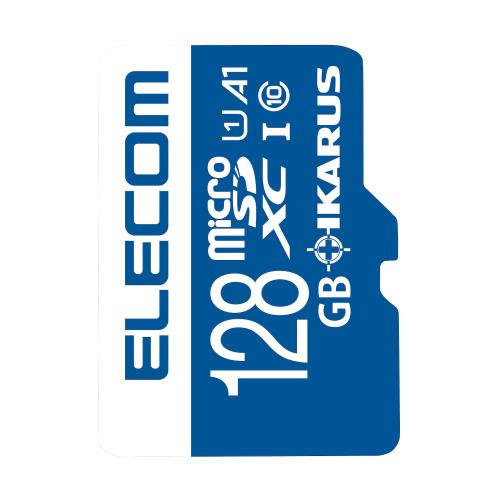 エレコム オンライン限定商品 MF-MS128GU11IKA 正規品送料無料 セキュリティソフトIKARUS 付きmicroSDXCカード イカロス 128GB