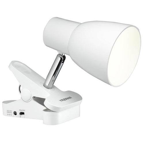 初売り ヤザワ Y07CLLE03W04WH 単4形乾電池式クリップライト ホワイト 低価格化