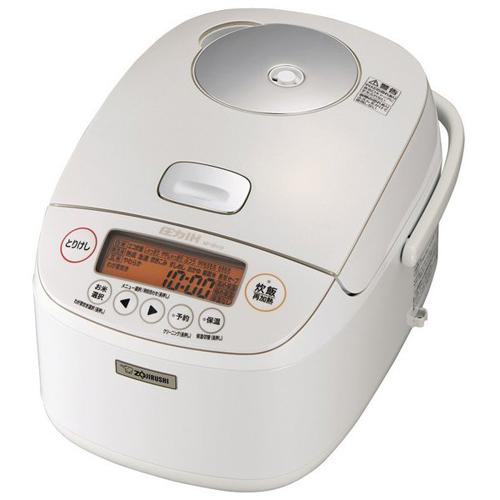 象印 NP-BH18-WA(ホワイト) 極め炊き 圧力IH炊飯ジャー 1升