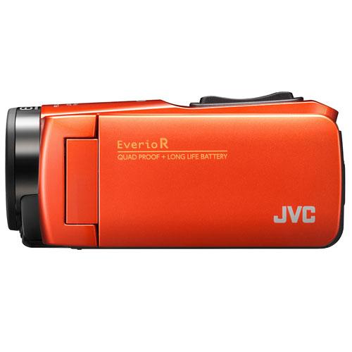 JVC GZ-RX680-D (ブラッドオレンジ) Everio R(エブリオ R) ビデオカメラ 防水モデル 64GB