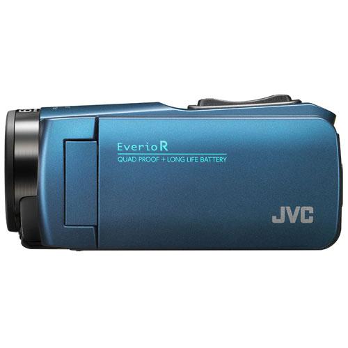 【長期保証付】JVC GZ-R480-A(ネイビーブルー) Everio R(エブリオ R) ビデオカメラ 防水モデル 32GB