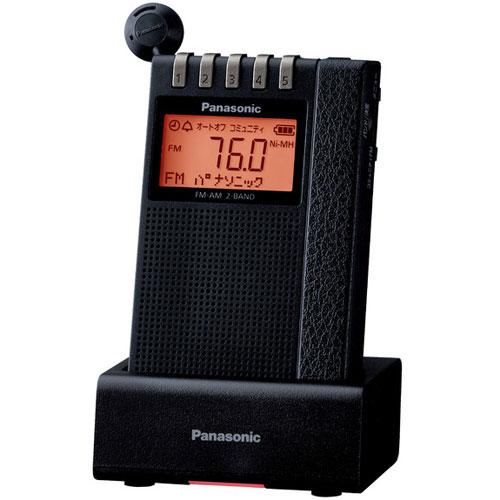 【長期保証付】パナソニック RF-ND380RK FM/AM 2バンドラジオ