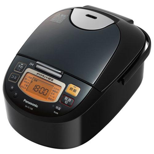 【長期保証付】パナソニック SR-FC108-K(ステンレスブラック) IHジャー炊飯器 IHジャー炊飯器 5.5合 5.5合, レザー生地販売 「布百選」:8af50e18 --- officewill.xsrv.jp