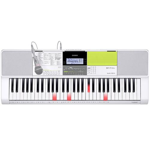 【長期保証付】CASIO LK-511 光ナビゲーションキーボード