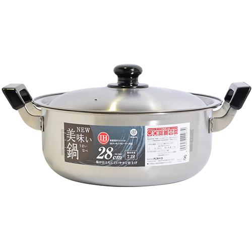 ベストコ ベストコ NEW美味い鍋 28cm IH対応