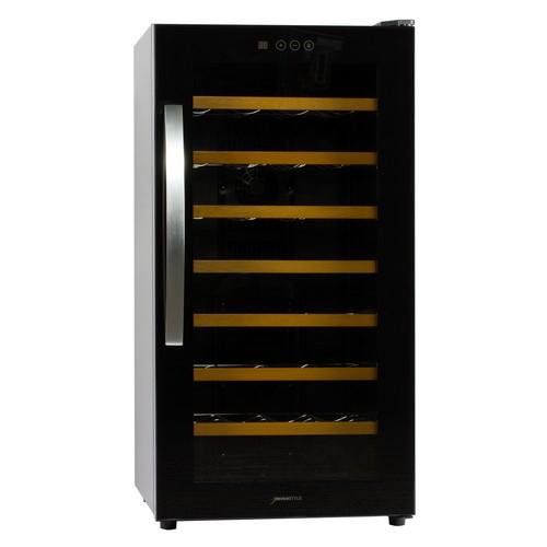 【設置+リサイクル+長期保証】デバイスタイル WF-P28W ぺルチェ方式 加温機能付きワインセラー 28本収納
