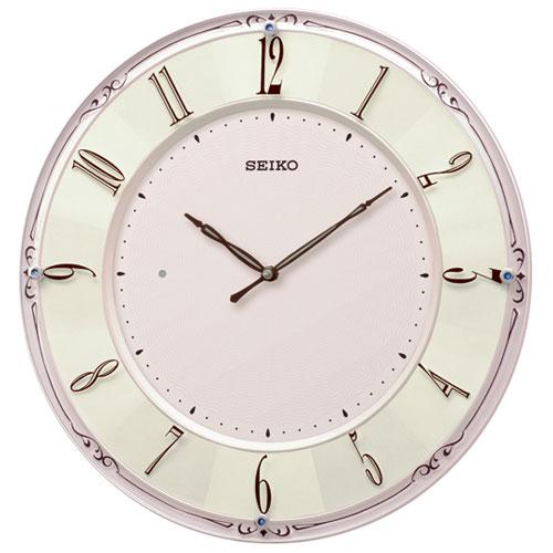 セイコー KX504P(ピンクパール) スタンダード 電波掛時計