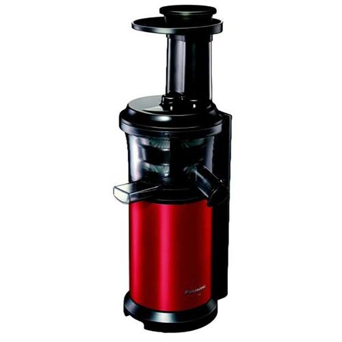 【長期保証付】パナソニック スロージューサー「ビタミンサーバー」MJ-L400-R メタリックレッド