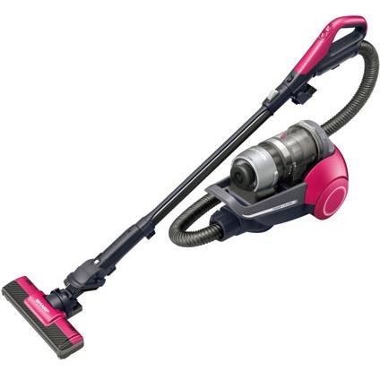 【長期保証付】シャープ EC-VS510-P(ピンク) 2段階遠心分離サイクロン掃除機