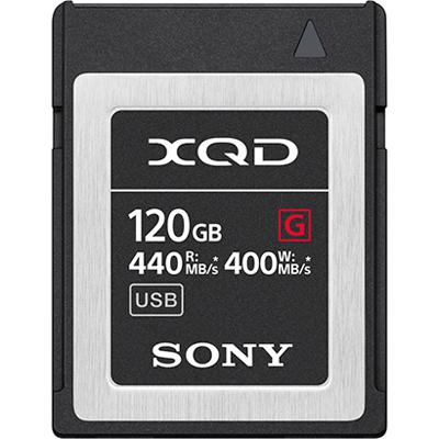 ソニー QD-G120F XQDメモリーカード 120GB