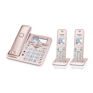 パナソニック VE-GZ51DW-N(ピンクゴールド) RU・RU・RU デジタルコードレス電話機 子機2台付