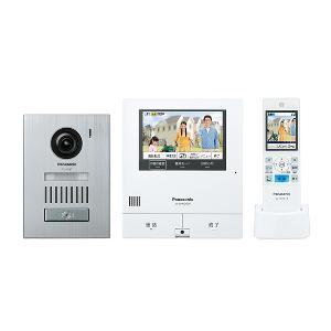 【長期保証付】パナソニック VL-SWD505KS 外でもドアホン ワイヤレスモニター付テレビドアホン