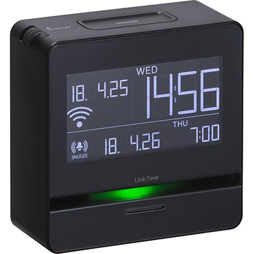 キングジム LT10(ブラック) スマートプログラムアラーム リンクタイム