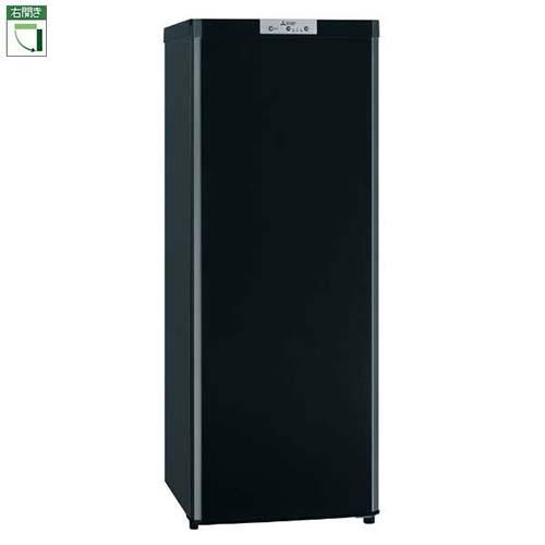 【設置】三菱 MF-U14D-B(サファイヤブラック) Uシリーズ 1ドア冷凍庫 右開き 144L