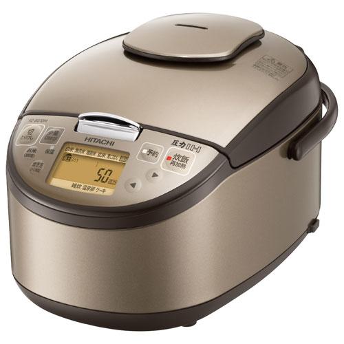 【長期保証付】日立 RZ-BG10M-T(ライトブラウン) 圧力IH炊飯器 5.5合