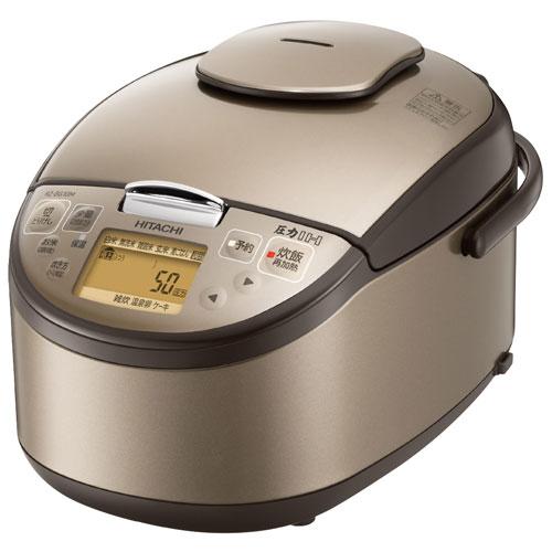 【長期保証付】日立 RZ-BG18M-T(ライトブラウン) 圧力IH炊飯器 1升