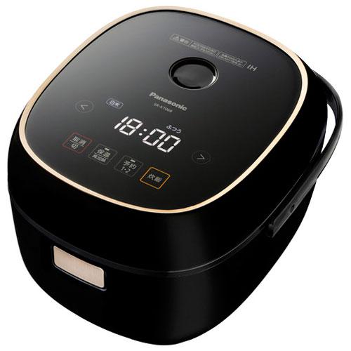 【長期保証付】パナソニック SR-KT068-K(ブラック) IHジャー炊飯器 3.5合