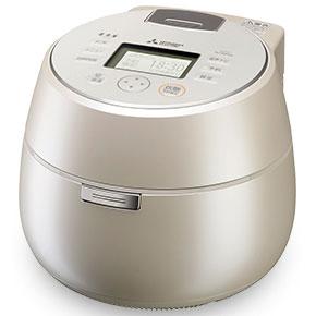 【長期保証付】三菱 NJ-AW109-W(白和三盆) 本炭釜 ジャー炊飯器 5.5合