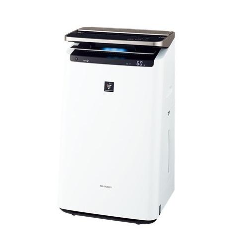 【長期保証付】シャープ KI-JP100-W(ホワイト) プラズマクラスターNEXT搭載 加湿空気清浄機 空気清浄46畳/加湿26畳