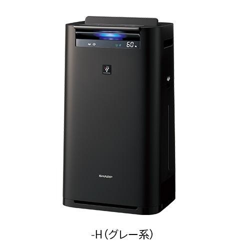 【長期保証付】シャープ KI-JS70-H(グレー) プラズマクラスター25000搭載 加湿空気清浄機 空気清浄31畳/加湿18畳