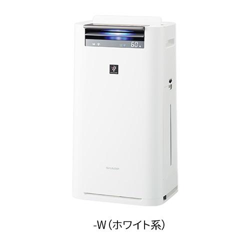 【長期保証付】シャープ KI-JS50-W(ホワイト) プラズマクラスター25000搭載 加湿空気清浄機 空気清浄23畳/加湿15畳