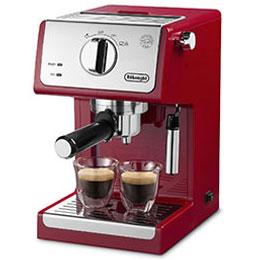【在庫あり】14時までの注文で当日出荷可能! 【長期保証付】デロンギ ECP3220J-R(パッション レッド) コーヒーメーカー アクティブ
