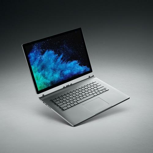 【長期保証付】マイクロソフト Surface Book 2(プラチナ) 15型液晶 Core i7 1TB/16GBモデル FVH-00031
