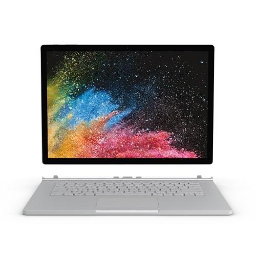 【長期保証付】マイクロソフト Surface Book 2(プラチナ) 13.5型液晶 Core i7 512GB/16GBモデル HNL-00024