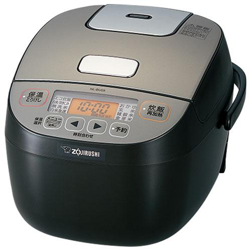 象印 NL-BU05-BA(ブラック) 極め炊き マイコン炊飯ジャー 3合