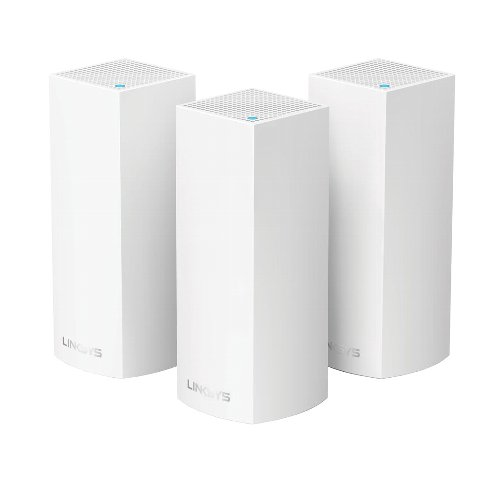 LINKSYS WHW0303-JP Velop(ヴェロップ) トライバンド メッシュWi-Fi 無線ルーター 3個パック