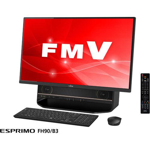 【長期保証付】富士通 FMVF90B3B2(オーシャンブラック) LIFEBOOK FHシリーズ 27.0型液晶 TVチューナー搭載
