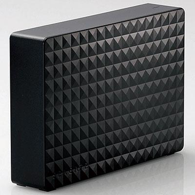 エレコム SGD-MX030UBK(ブラック) 外付けHDD 3TB USB3.1(Gen1) /3.0/2.0接続