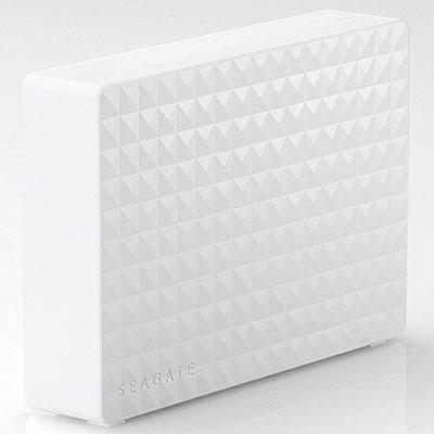 エレコム SGD-MX030UWH(ホワイト) 外付けHDD 3TB USB3.1(Gen1) /3.0/2.0接続