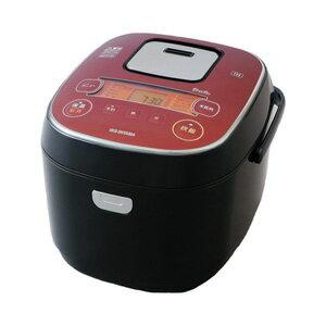 【長期保証付】アイリスオーヤマ KRC-IE10-B(ブラック) 銘柄炊き IHジャー炊飯器 一升