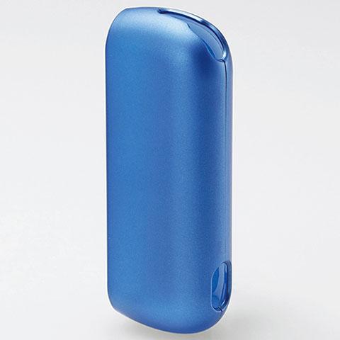 エレコム 再再販 ET-IQ3PV1BU ブルー 人気激安 極みハードカバー IQOS3用