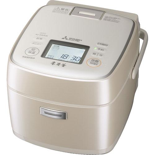 【長期保証付】三菱 NJ-SWA06-W(白和三盆) 激沸騰・泡昇り炊き ジャー炊飯器 3.5合