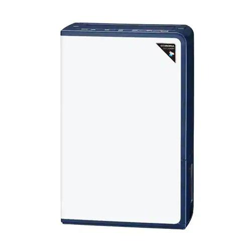 【長期保証付】コロナ CD-H1819-AE(エレガントブルー) 除湿機 コンプレッサー+ヒーター 木造20畳/鉄筋40畳