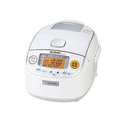 【長期保証付】象印 NP-RM05-WA(ホワイト) 極め炊き 圧力IH炊飯ジャー 3合