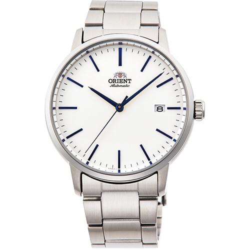 【長期保証付】オリエント RN-AC0E02S 自動巻き(手巻き付き) 腕時計 メンズ