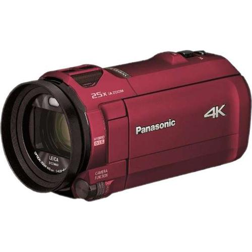 【長期保証付】パナソニック HC-VX992M-R(アーバンレッド) デジタル4Kビデオカメラ 64GB