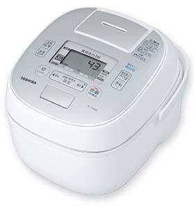 東芝 RC-10VSN-W(グランホワイト) 合わせ炊き 真空圧力IHジャー炊飯器 5.5合