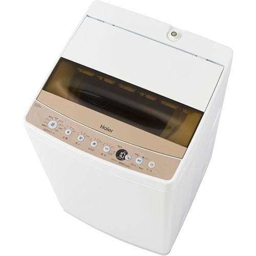 【設置】ハイアール JW-C60C-W(ホワイト) Haier Live Series 全自動洗濯機 上開き 洗濯6kg