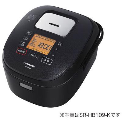 パナソニック SR-HB189-K(ブラック) IHジャー炊飯器 1升