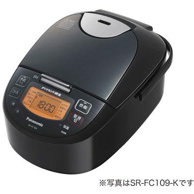 パナソニック SR-FC189-K(ステンレスブラック) IHジャー炊飯器 1升